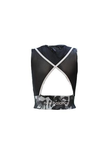 New Balance Kadın  Bra-Sporcu Sütyeni WPB011-BKSIYAH Siyah